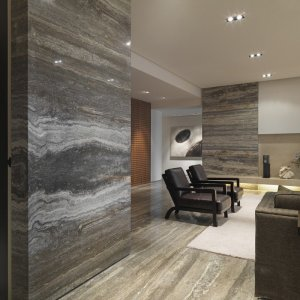 Silver Grey Travertine Nmjt108