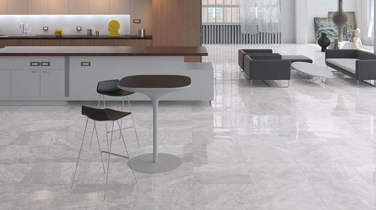 clean marble floor