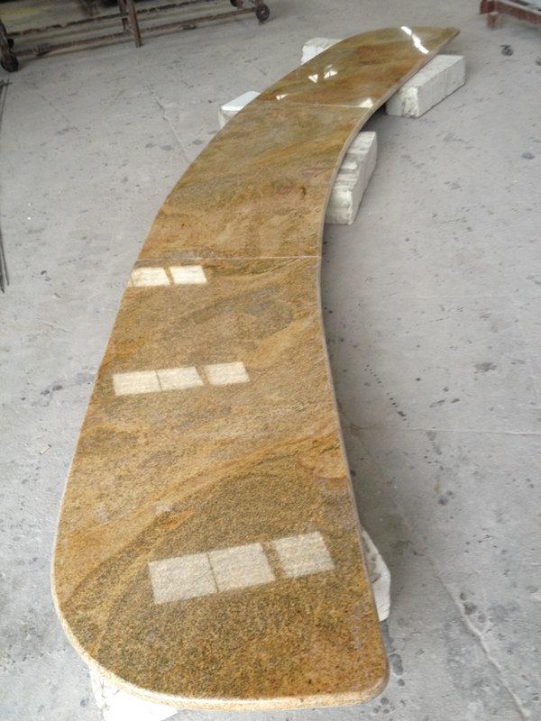 King Golden Granite Countertop