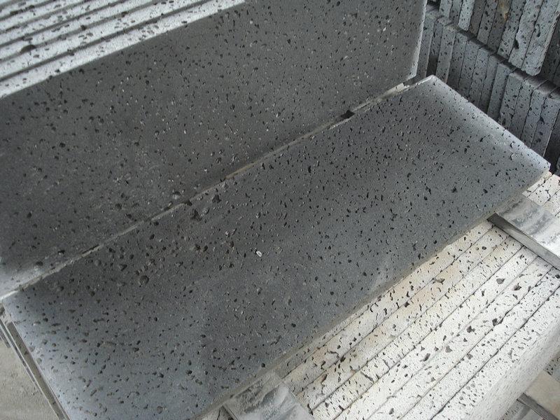 Black Lavastone Lava Stone Paver Basalt Lava Stone