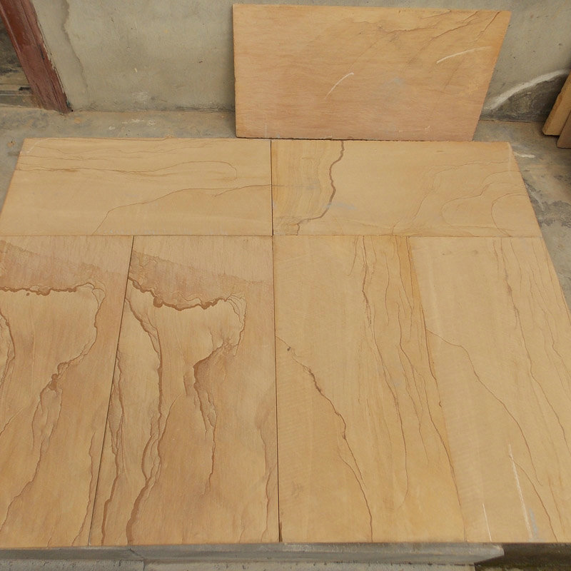 China Landscape Sandstone Flooring Tile Newstar Stone