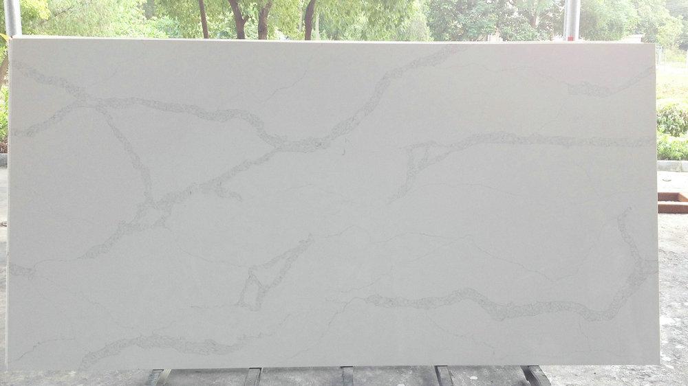 Benyeequartz Nq5063 Calacatta Nuvo Quartz Stone Colors