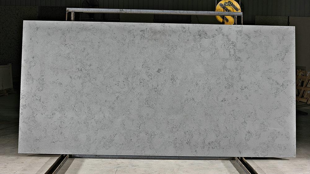 Ice Age Blue Quartz Stone Slab Kitchen Quartz Countertops