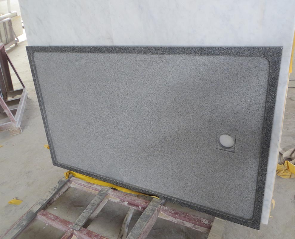 G654 Granite Bathroom Shower Tray