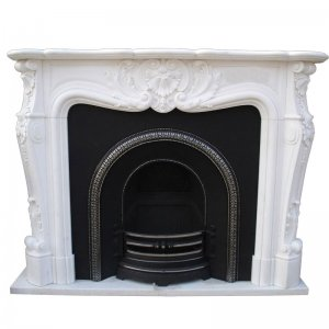 White Fireplace NSFIR012