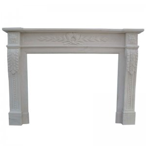 White fireplace NSFIR018